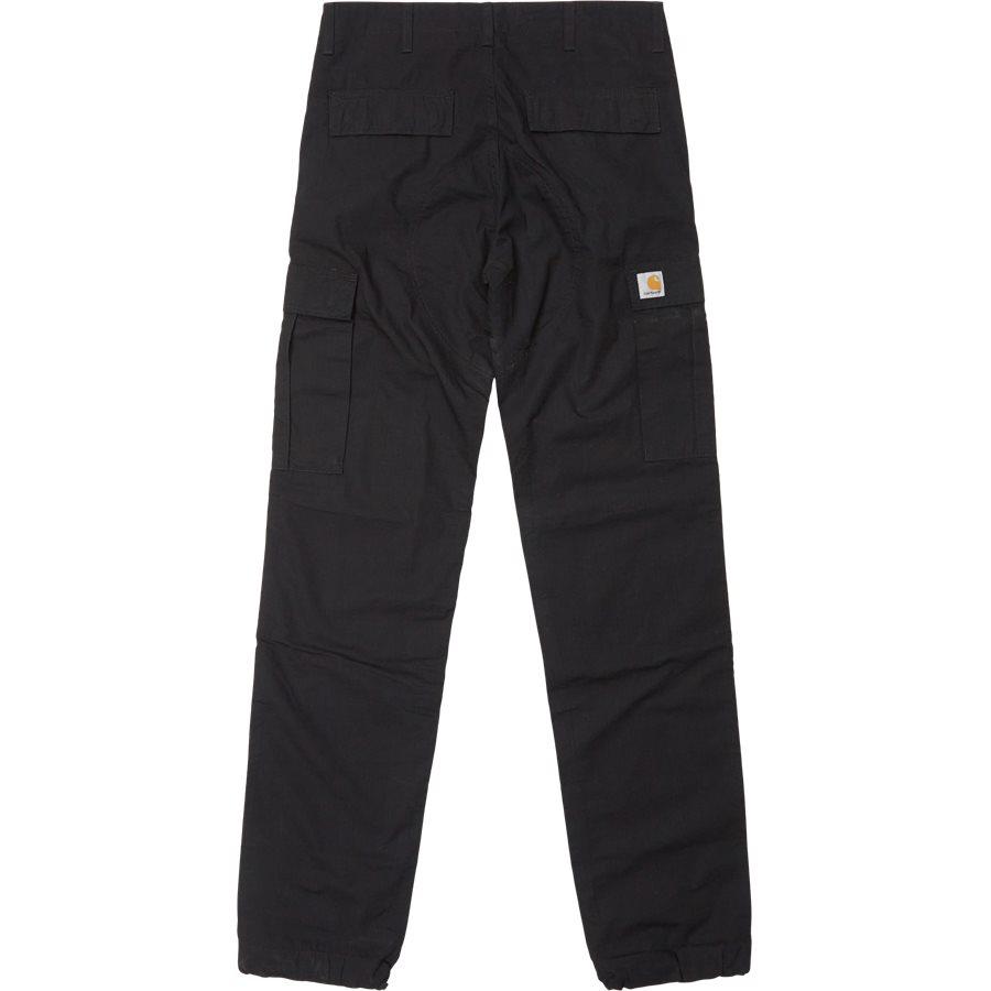 REGULAR CARGO PANT-I015875 - Cargo Pants - Bukser - Regular - BLACK RINSED - 2
